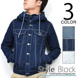 デニムジャケット ジージャン メンズ アウター カジュアルジャケット|styleblock