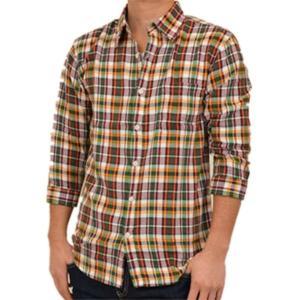 カジュアルシャツ チェックシャツ 半袖シャツ シャツ ビッグシルエット 柄 五分 七分 七分袖 チェック柄 メンズ トップス|styleblock