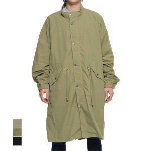 モッズコート ミリタリーコート ロングコート 長袖 ライトアウター コットン100% アウター メンズ|styleblock