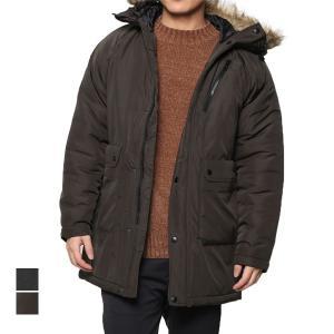 モッズコート コート ミリタリーコート 中綿 中わた ファーフード マイクロタフタ 防寒 アウター メンズ|styleblock