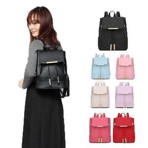 リュック ミニリュック リュックサック サフィアーノ調 PUレザー 合皮 パステルカラー 小物 鞄 バッグ レディース|styleblock