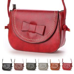 バッグ ミニバッグ ミニポシェット ショルダーバッグ リボン 合皮 PUレザー 鞄 小物 レディース|styleblock