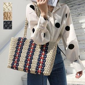 トートバッグ かごバッグ ストローバッグ A4 鞄 かばん バッグ 小物 レディース|styleblock