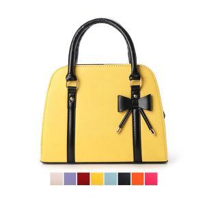 ハンドバッグ ショルダーバッグ 2way PUレザー チャーム付き リボン 小物 バッグ 鞄 レディース|styleblock