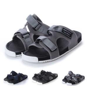 サンダル スポーツサンダル コンフォートサンダル スライド ダブルベルト 靴 シューズ メンズ|styleblock