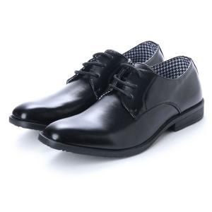 ビジネスシューズ ドレスシューズ ラウンドトゥ ロングノーズ ラウンドトゥ 千鳥格子 靴 シューズ メンズ|styleblock