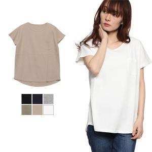 Tシャツ カットソー クルーネック 丸首 半袖 ワッフル ベーシック シンプル 6色 カラバリ トップス レディース|styleblock