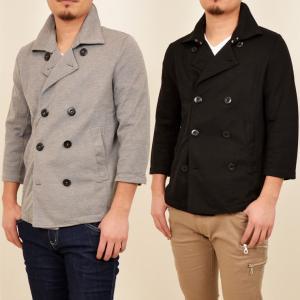 7分袖 七分袖 ジャケット アウター カジュアルジャケット|styleblock