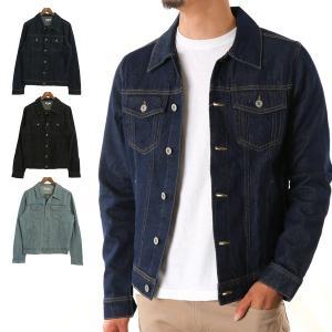 ジャケット デニム Gジャン ジージャン 綿100% コットン アウター メンズ|styleblock