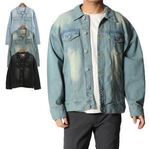 ジャケット ジャンパー Gジャン ジージャン ビッグシルエット オーバーサイズ アウター メンズ|styleblock