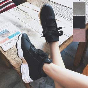 スニーカー ダッドスニーカー スニーカーブーツ インソール 厚底 プラットフォーム 靴 シューズ レディース|styleblock