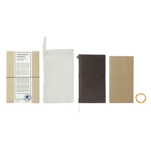 トラベラーズノート レギュラーサイズ 茶 13715006