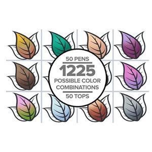 カメレオンペン カラートップ 色のブレンド 5本セット(正規品) (スキントーン)
