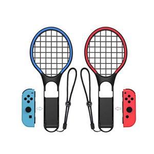 ZOYUBS【2020新発売】 Nintendo Switch テニスラケット マリオテニス エース Joy-Conハンドル 体感コントロールゲーム|stylecolorstore