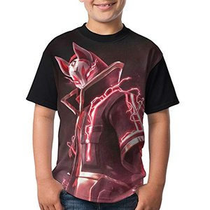 フォートナイト バトルロイヤル Fortnite キッズ tシャツ 可愛い カジュアル ファッション 子供 男女兼用 半袖 クルーネック stylecolorstore