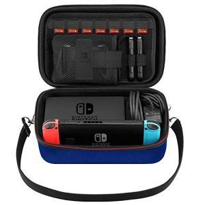 ATiC Nintendo Switch ケース EVA ニンテンドー スイッチ まるごと収納バッグ ハンドル 肩掛け2way 外出や旅行用 防塵 防|stylecolorstore