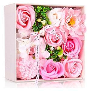 Immortal ソープフラワー 創意方形ギフトボックス 誕生日 母の日 記念日 先生の日 バレンタインデー 昇進 転居などに最適 stylecolorstore