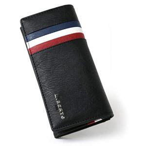 [リベルトエドウィン] 財布 メンズ 長財布 PUレザー トリコロール stylecolorstore