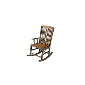 コバアニ模型工房 1/12 アンティークロッキングチェアー 木製組立キット WF-020|stylecolorstore