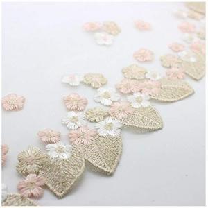 Sweetimes お花のチュールレース クラフト レース生地 手芸用品 広幅18cm 3ヤードセット 166|stylecolorstore