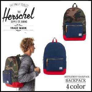 【送料無料】 ハーシェル サプライ HERSCHEL SUPPLY Settlement Backpack バックパック セトルメント リュック デイバッグ リュックサック stylecompany