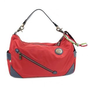 OROBIANCO オロビアンコ  ショルダーバッグ 赤 ビジネスバッグ ブリーフケース バッグ カバン 鞄ナイロン SILVESTRA シルベストラ stylecompany