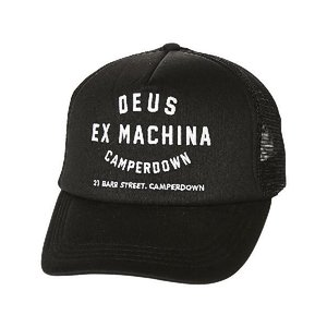 Deus ex machina Mesh Cap デウスエクスマキナ キャップ 黒 メッシュキャップ ブラック 帽子 大人気 定番 スナップバック ブ|stylecompany