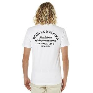 DeusExMachina デウス エクス マキナ Tシャツ 半袖 白 メンズ ロゴTシャツ Tee メンズファッション アメカジ サーフ surf|stylecompany