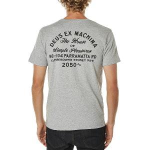DeusExMachina デウス エクス マキナ Tシャツ 半袖 グレー メンズ ロゴTシャツ Tee メンズファッション アメカジ サーフ sur|stylecompany