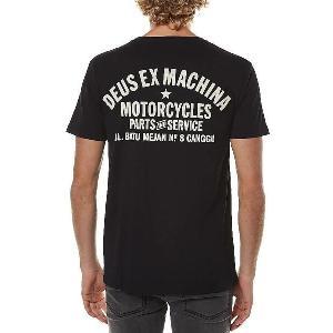 DeusExMachina デウス エクス マキナ Tシャツ 半袖 黒 メンズ ロゴTシャツ Tee メンズファッション アメカジ サーフ surf|stylecompany