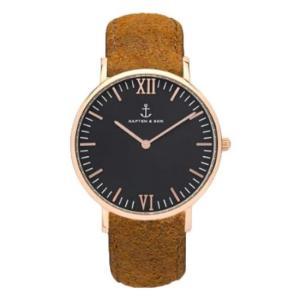 KAPTEN&SON; キャプテン&サン 腕時計 40mm レディース メンズ ユニセックス  Leather belt 海外で話題 ウォッチ プレゼ|stylecompany