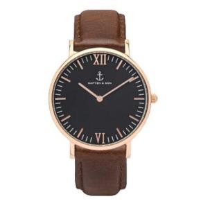 KAPTEN&SON; キャプテン&サン 腕時計 36mm レディース メンズ ユニセックス  Leather belt 海外で話題 ウォッチ プレゼ|stylecompany