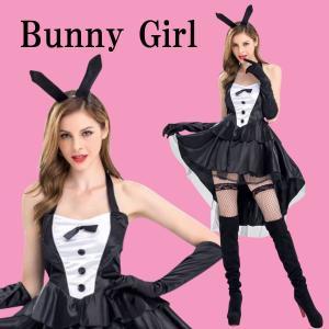 【送料無料】 大きいサイズ セクシー バニーガール コスプレ [6点セット] バニー ハロウィン 衣装 バニーコスプレ 仮装 コスチューム XL コス 可愛い 耳 うさぎ|stylecompany
