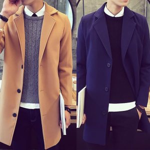 [春まで着られる] チェスターコート メンズ メルトン  ロングコート メンズファッション アウター コート ビジネスコート 春|stylecompany