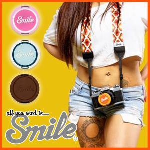[Smile/スマイル] カメラ 女子 おしゃれ レンズ キャップ 可愛い お洒落 人気 おすすめ レディース 女性用 一眼カメラ 【LENS CAP】|stylecompany