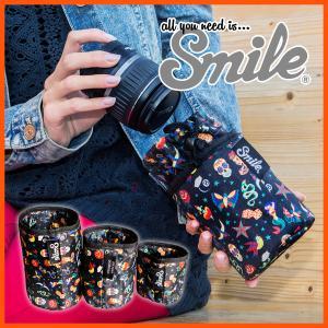 [Smile/スマイル] レンズケース カメラ 一眼 レンズポーチ 女子 おしゃれ かわいい ポーチ カバー 保護 女性 【Gnam Gnam lens bag-L】|stylecompany