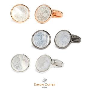 カフス ブランド サイモンカーター Simon Carter paisley ペイズリー ギフト プレゼント 送料無料|styleequal