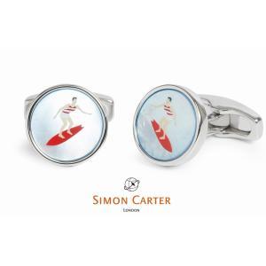 カフス ブランド サイモンカーター Simon Carter Surfuer サーファー ギフト プレゼント 送料無料|styleequal