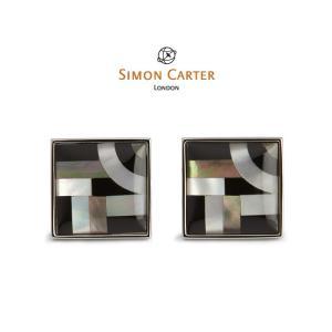 カフス ブランド サイモンカーター Simon Carter / バウハウスライン / シェル / 貝 /アクセサリー】|styleequal