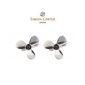 カフス ブランド サイモンカーター Simon Carter / オニキス プロペラ / SIMON CARTER/ ストーン ギフト プレゼント 送料無料|styleequal