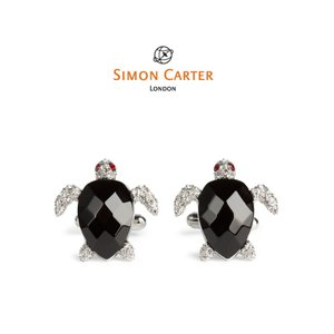 カフス ブランド サイモンカーター Simon Carter / darwin-turtle かめ タートル / ギフト プレゼント 送料無料|styleequal