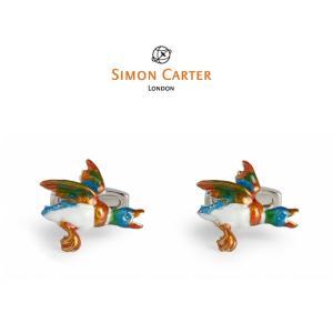 カフス ブランド サイモンカーター Simon Carter flying-duck ギフト プレゼント 送料無料|styleequal