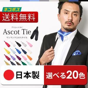 【送料無料】アスコットタイ 単品 選べる全20種 アスコットスカーフ メンズ おしゃれ ネクタイ 結婚式 パーティ|styleequal