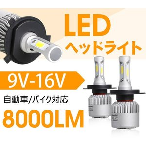 送料無料-業界人気No.1 LEDヘッドライト...の詳細画像1