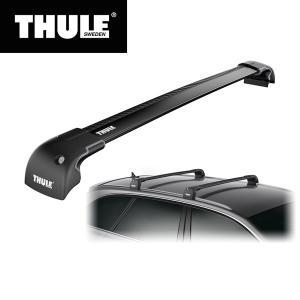 THULE(スーリー) ディスカバリー4専用ベースキャリアセット(ウイングバー エッジ9593B+キ...