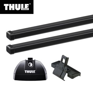THULE(スーリー) ディスカバリー4専用ベースキャリアセット(フット753+スクエアバー7123...