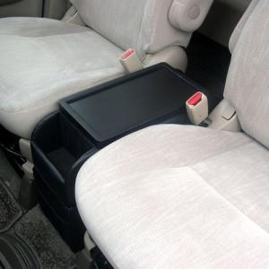 日本製 トヨタ ノア・ヴォクシー・エスクァイア(NOAH・VOXY・ESQUIRE)専用コンソールボックス ドリンクホルダー センターテーブル 80系ハイブリッド車は除く|stylemarket