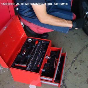 150ピース工具セット 自動車/バイク/工具セット/工具箱/自動車/バイク/農器具にも/ドライバービット/ラチェット/スパナ/ラジオペンチ|stylemarket