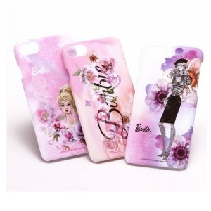 iPhone8 iPhone7 ハードケース Barbie Design Romantic Print Hard Case かわいい おしゃれ|stylemartnet