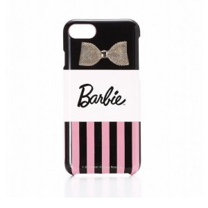 iPhone8 iPhone7 ハードケース バービーBarbie Design Ribbon Print Hard Case かわいい|stylemartnet